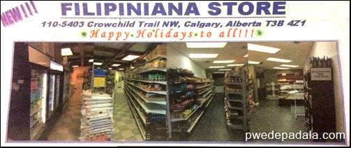 Filipino Convenience Stores in Calgary