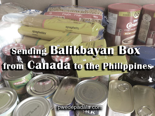 Balikbayan Box Shipping from Canada