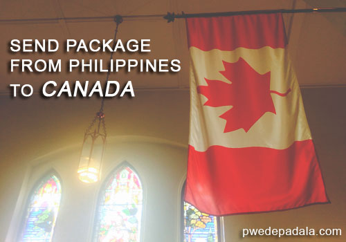 Send Package from Philippines to Canada