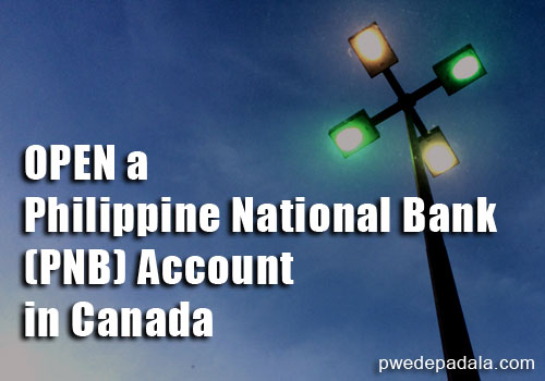 Open a Philippine National Bank Account
