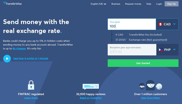 Send Money to the Philippines with TransferWise