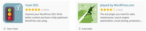 Yoast and Jetpack - WordPress Plugin