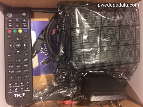 TFC IPTV Box and Peripherals