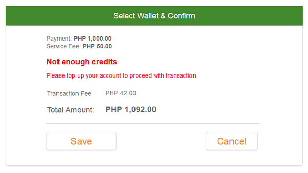 Add Fund to PayPilipinas Account