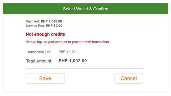 Add Fund to PayPilipinas Account