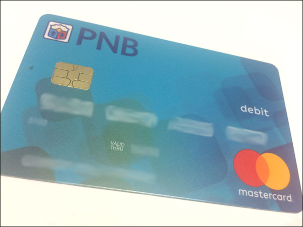 PNB Savings Debit Card (Mastercard)