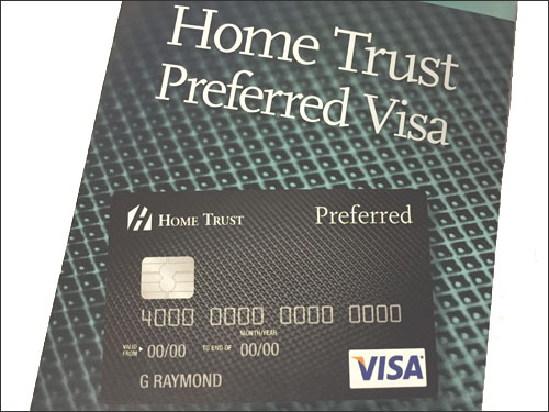 Review: Home Trust Preferred Visa Card