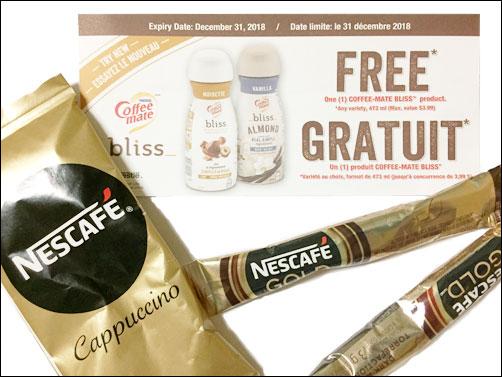 Free Nescafe Gold Cappuccino