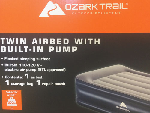 Should You Buy an Air Bed Like Ozark Trail?