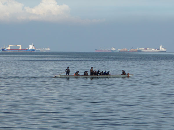 Boating at Manila Bay