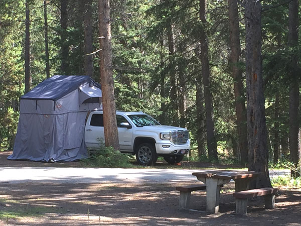 Camping at Tunnel Mountain - Village I