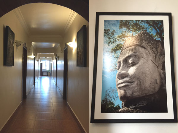 Hallway and god photo
