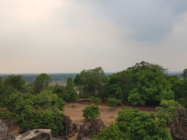 View from the top of Phnom Bakheng