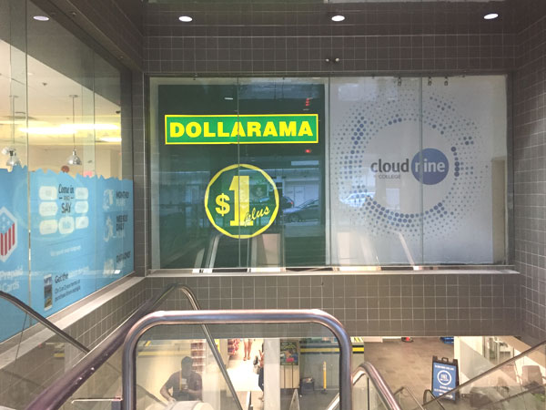 A branch of Dollarama in Vancouver