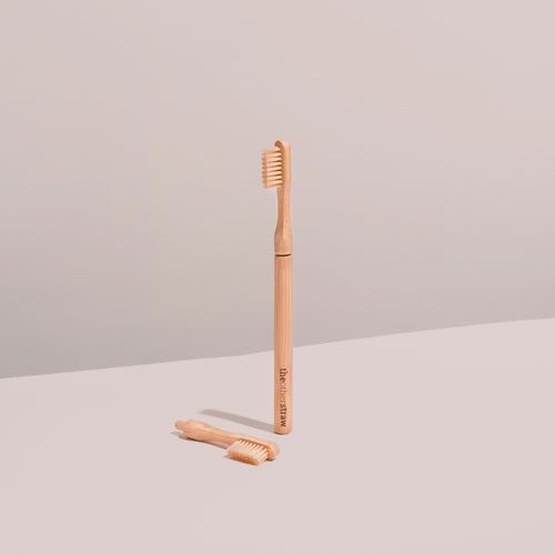 The Other Straw bamboo toothbrush
