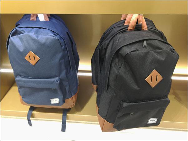 Herschel backpacks in Simons