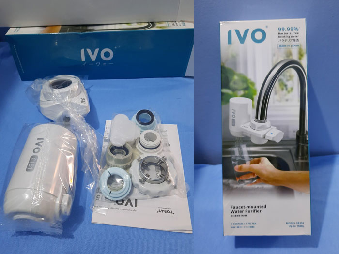 IVO Water Purifier (1500 L) from Lazada.ph